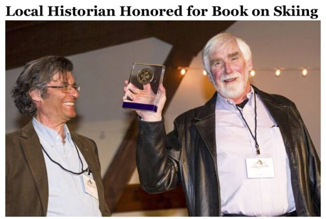 Local Historian Honored CROPPED